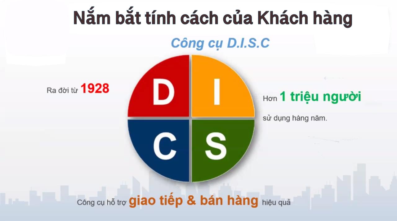 DISC là gì? - Công cụ nắm bắt tính cách khách hàng