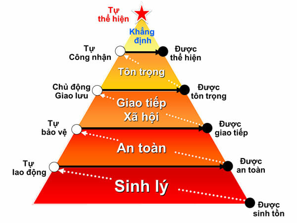 (hình tháp nhu cầu Maslow)
