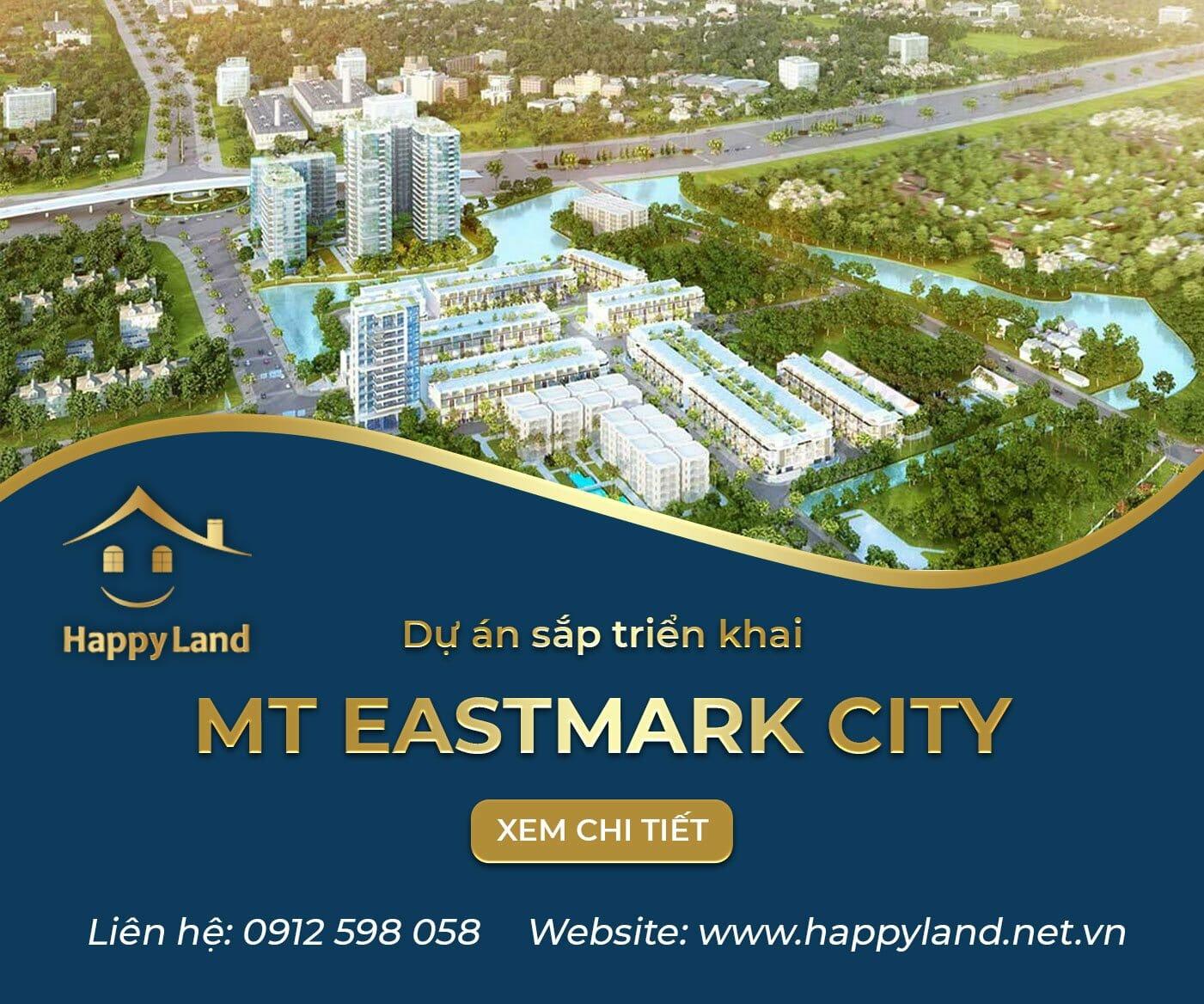 dự án sắp triển khai căn hộ MT EASTMARK CITY