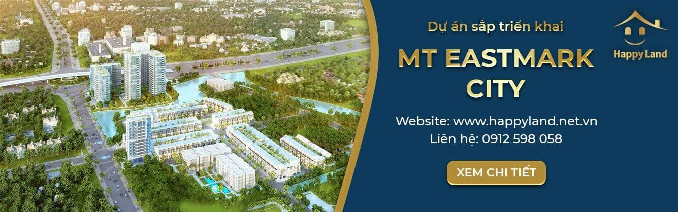 Dự án MT EASTMARK CITY đang được ra mắt