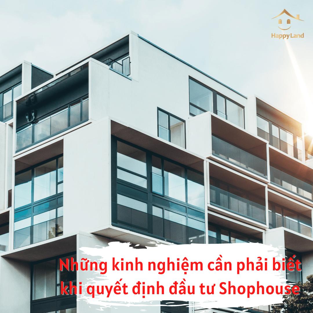 Shophouse càng gần với khu dân cư sẽ càng có khả năng sinh lời cao hơn.