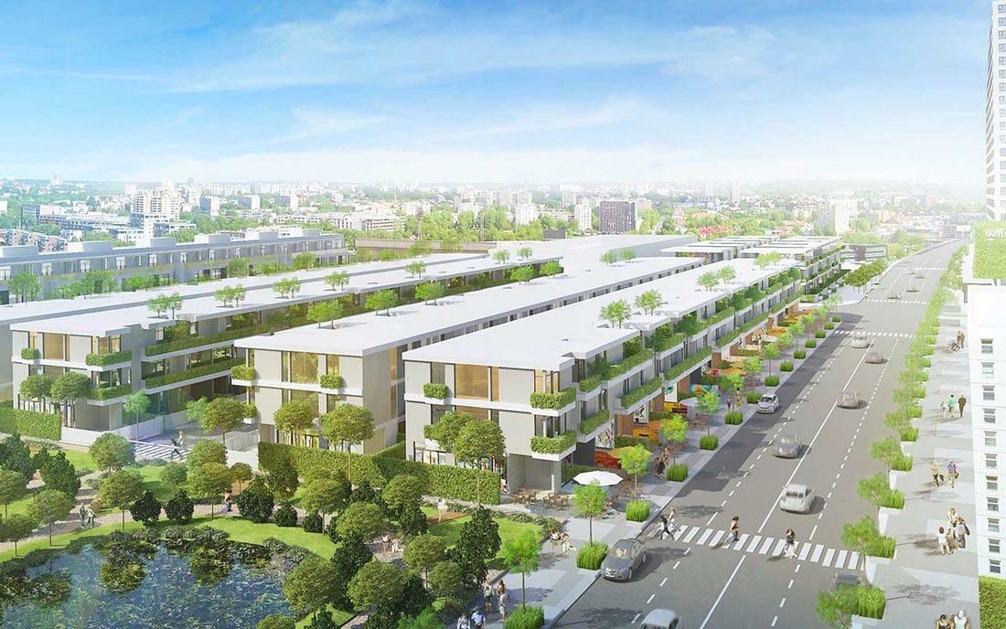 Những dự án bán căn hộ quận 9 phủ xanh ngày càng thu hút những người đầu tư
