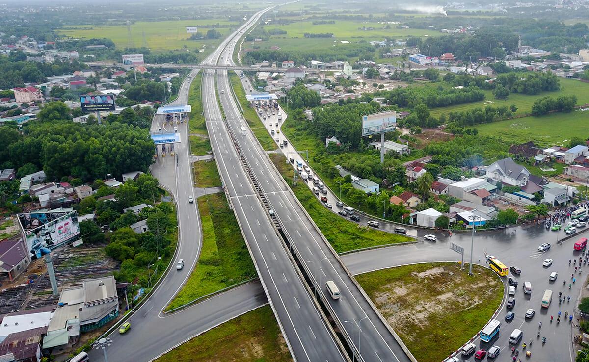 Cao tốc Long Thành - Dầu Giây nằm trong thông tin quy hoạch quận 9 với đề xuất mở rộng