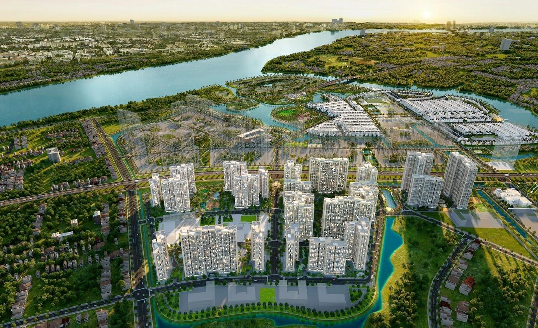 The Origami sở hữu vị trí trung tâm của siêu dự án Vinhome Grand Park với hệ thống tiện ích bật nhất