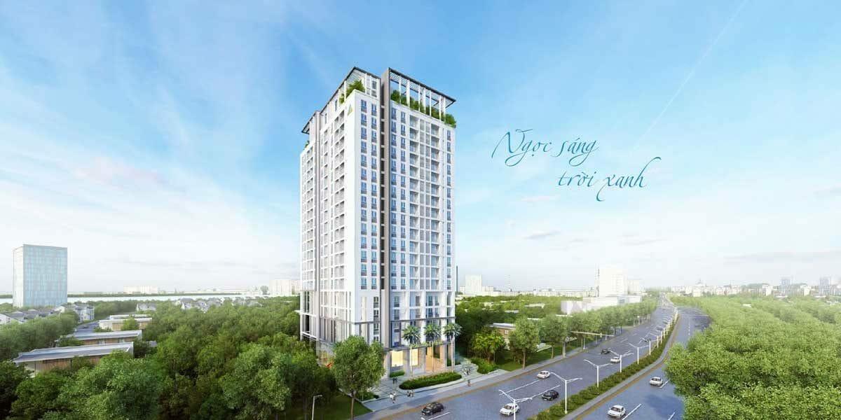 Không gian xanh mát của dự án là điểm thu hút nhiều nhà đầu tư yêu thích thiên nhiên nơi đây
