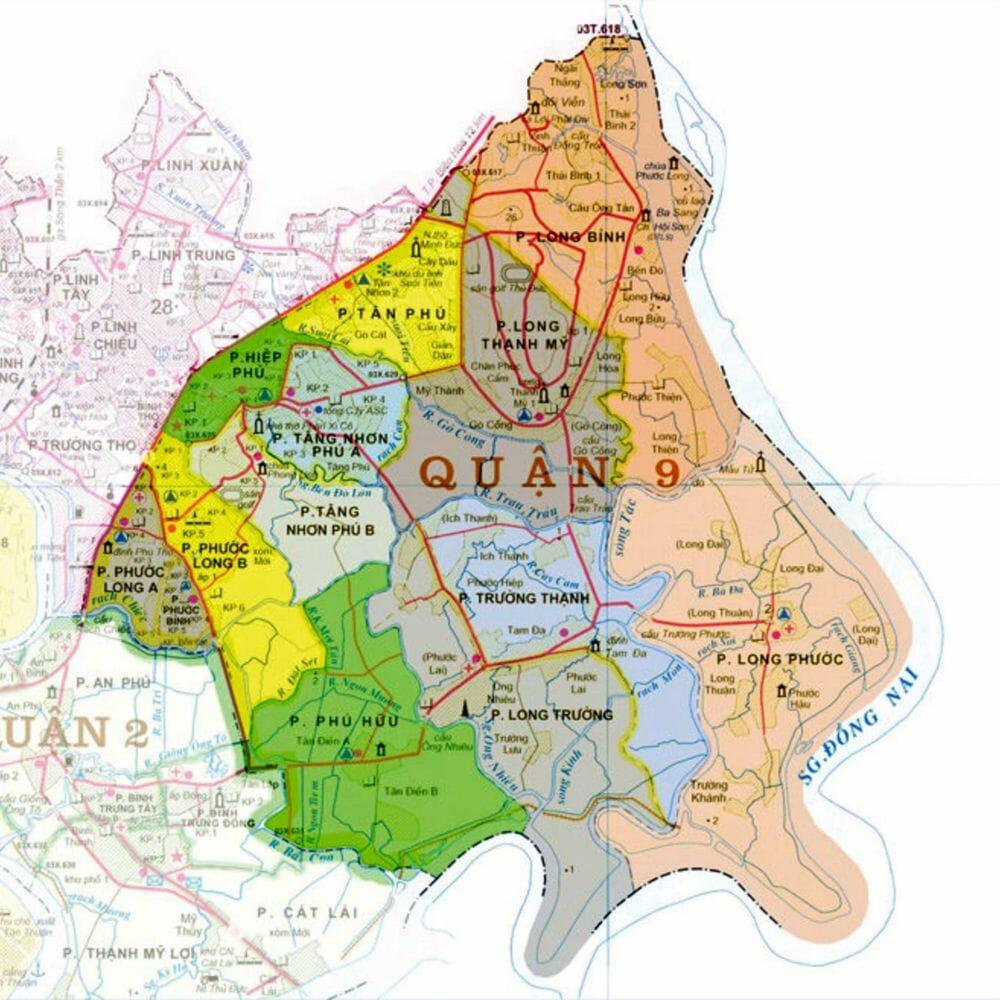 Cập nhật thông tin quy hoạch của quận 9 mới nhất mang đến cái nhìn khách quan về thị trường bất động sản