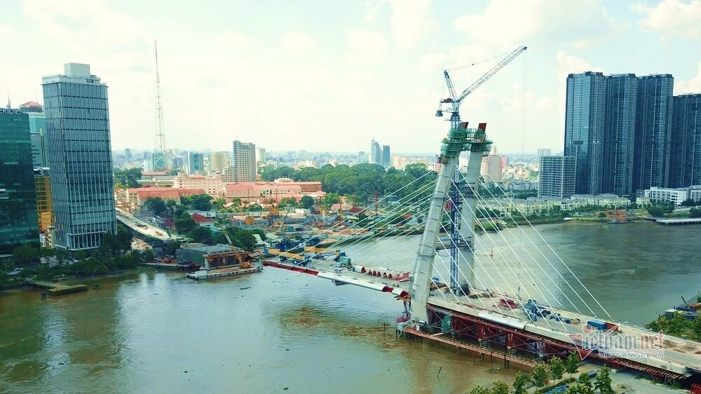 Cầu Thủ Thiêm 2 tạo lực đẩy cho thị trường BĐS khu Đông