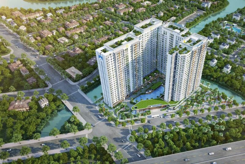 Căn hộ giá tốt nhất thành phố Thủ Đức Safira Khang Điền