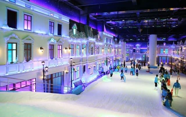 Snow Town Sài Gòn - điểm đến hấp dẫn các bạn trẻ