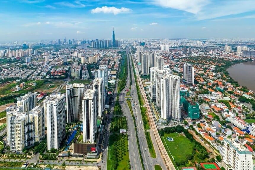 Sôi động thị trường nhà ở tại các đô thị vùng ven