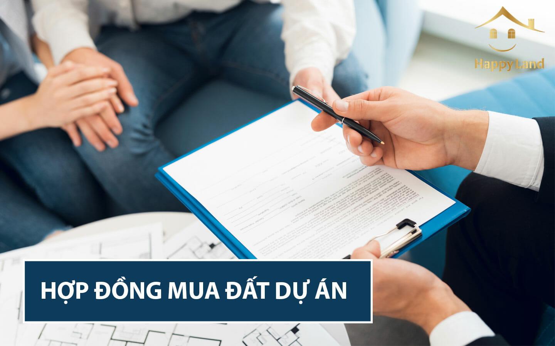 Thủ tục pháp lý khi mua đất dự án không thể bỏ qua hợp đồng mua bán
