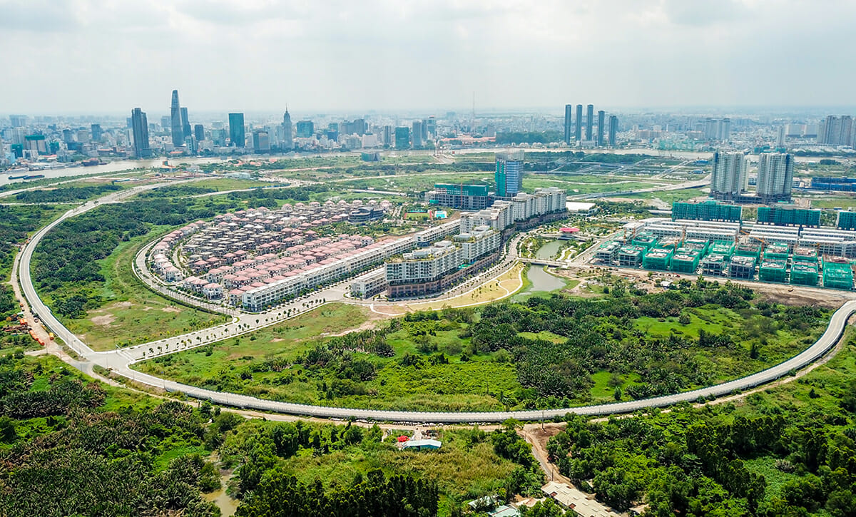Quy hoạch khu đô thị mới Thủ Thiêm TP Thủ Đức