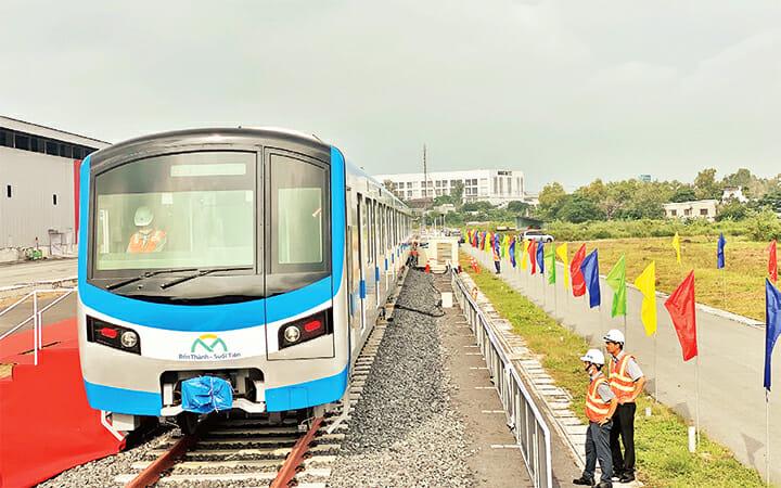 Tuyến Metro số 1 chuẩn bị đưa vào hoạt độn