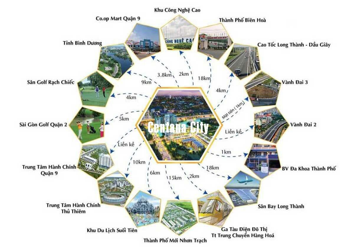 Tiện ích ngoại khu hoàn hảo của dự án MT EASTMARK CITY