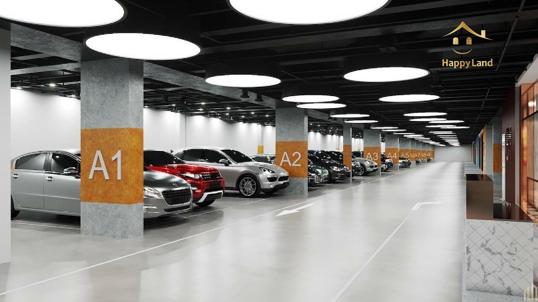 Một lưu ý khi mua căn hộ TP Thủ Đức chất lượng là tìm kiếm dự án có bãi đỗ xe chất lượng